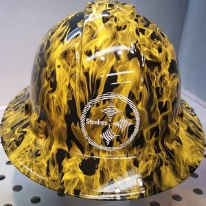 Other - One of a kind HYDROGRAPHIC 🔥 FLAME hard hat